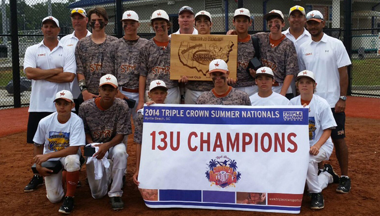 Summer Nationals 13U Champions, Arena Starz - Game Recap
