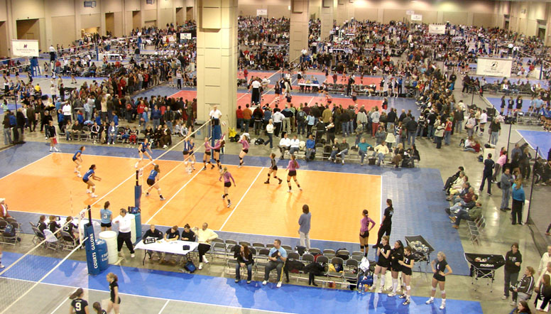 TC National Volleyball Championships, Salt Lake City, UT